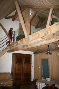 distillerie escalier mezzanine