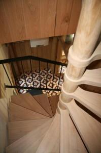 distillerie escalier